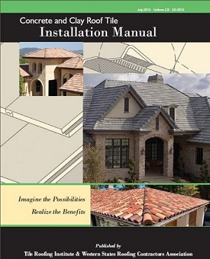 Concrete and Clay Roof Tile Installation Manual